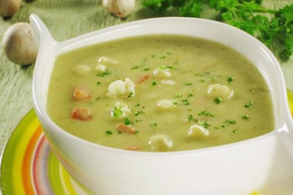 Рецепт Суп-пюре с курицей и брокколи