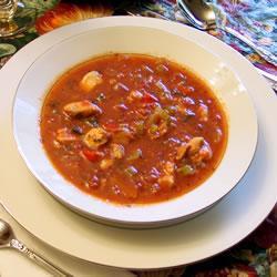 Рецепт Рыбный суп по-итальянски