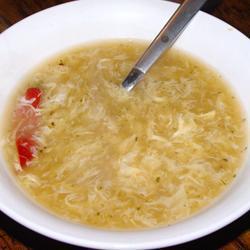 Рецепт Китайский суп с яйцом