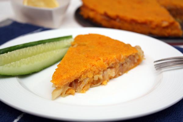 Рецепт Картофельно-тыквенная запеканка