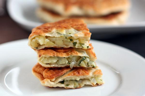 Рецепт Плацинды с картошкой