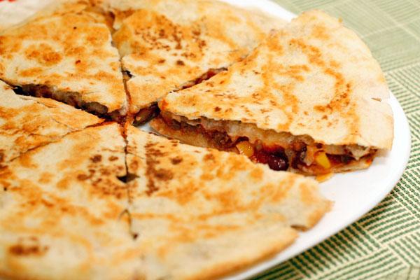 Рецепт Кесадилья с мясом