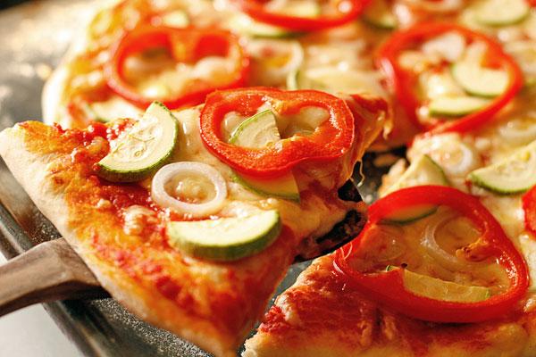 Рецепт Овощная пицца