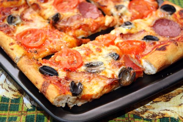 Рецепт Мясная пицца