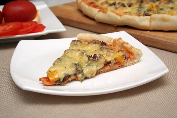 Рецепт Пицца с фаршем
