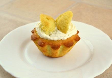 Рецепт Лимонные кексы Бабочки