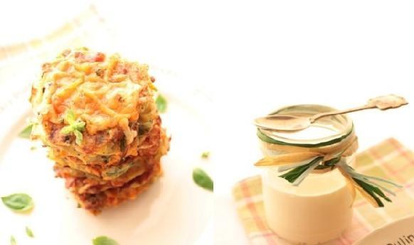 Рецепт Овощные оладушки с сырной корочкой