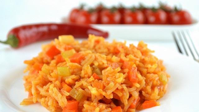 Рецепт Рис с морковью и сельдереем