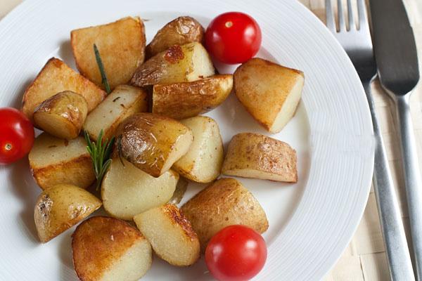 Рецепт Жареный молодой картофель