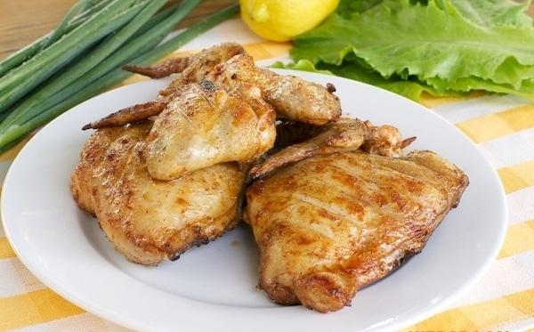 Рецепт Курица на решетке в кисло-сладком соусе