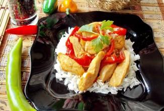 Рецепт Куриные грудки по-китайски