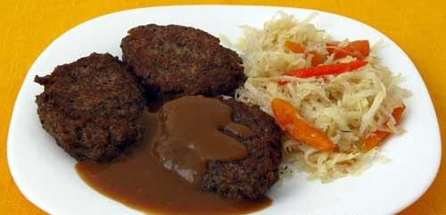 Рецепт Котлеты из риса с грибами