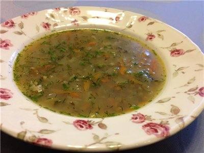 Рецепт Суп с машем