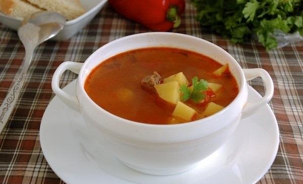 Рецепт Гуляш-левеш