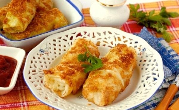 Рецепт Постные капустные шницели