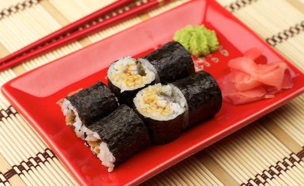 Рецепт Унаги маки