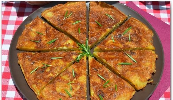 Рецепт Испанская тортилья с розмарином