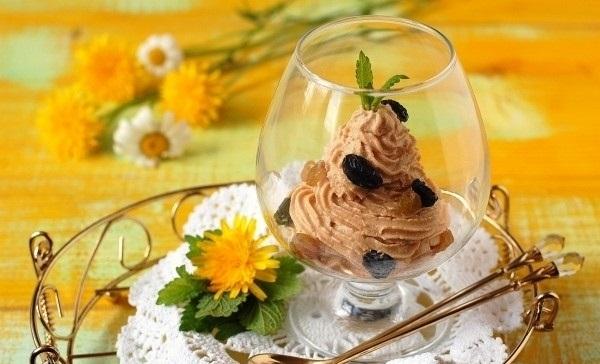 Рецепт Десерт из ряженки