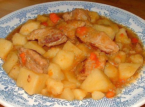 Рецепт Суп картофельный с мясом