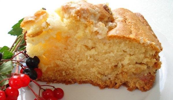 Рецепт Американский сметанный пирог