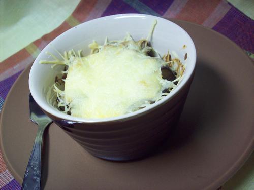 Рецепт Жюльен из баклажанов и грибов