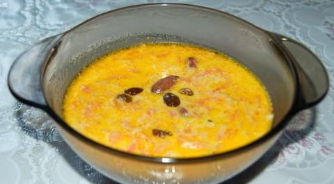 Рецепт Сладкий морковный суп