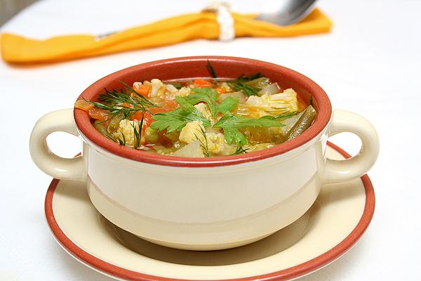 Рецепт Франкфуртский овощной суп