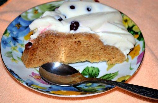 Рецепт Медовый пирог со сметанным кремом