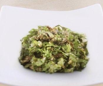 Рецепт Салат из баклажанов с орехами
