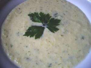 Рецепт Суп-пюре из картофеля, кабачка и тыквы