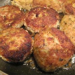Рецепт Котлеты из курицы с тыквой