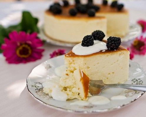 Рецепт Сырный пирог с белым шоколадом