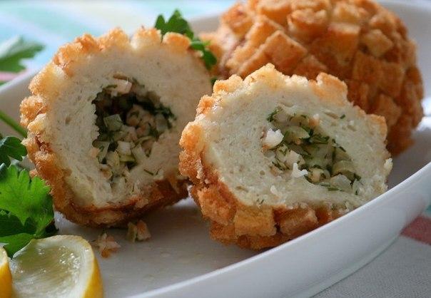 Рецепт Рыбные зразы Каштаны