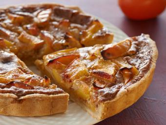 Рецепт Пирог с хурмой
