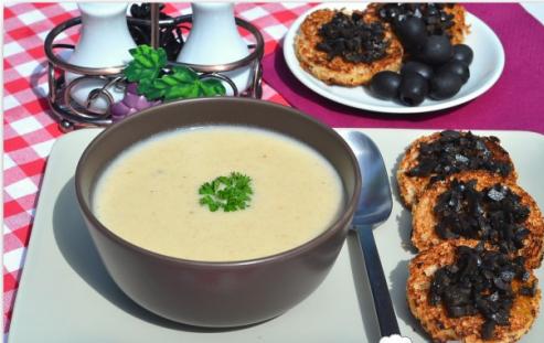 Рецепт Чесночный суп-пюре